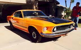 1969 mustang orange orange 1969 mach 1 ford mustang fastback mustangattitude com