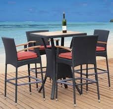 Outdoor Bar Table And Stools Awesome Outdoor Bar Table And Chairs Jbeedesigns With Stool Sets