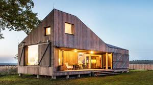 small energy efficient home designs contemporary energy efficient wooden small home with a folded roof