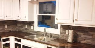 interior amazing airstone backsplash stone kitchen