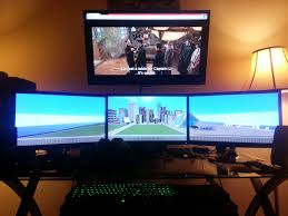 pc setup home decor pinterest pc setup office setup and