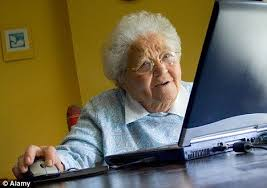 Computer Grandma Meme - lovely grandma meme computer and youtube help the elderly keep