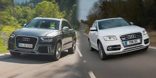 difference between audi a3 se and sport audi q3 vs audi q5 side by side uk comparison carwow