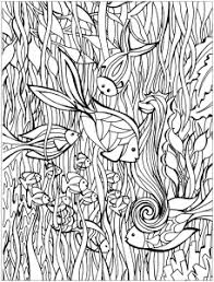 coloring pages about fish fishes coloring pages for adults