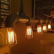 Bar Light Fixtures by Transparent Pendant Lights Metal Cord Pendant Lamps Water Pipe