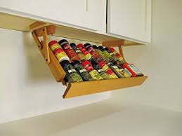 Extra Large Spice Rack Amazon Com Ultimate Kitchen Storage Under Cabinet Spice Rack