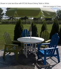 POLYWOOD ECD Long Island Dining  Deck Chair POLYWOOD Furniture - Outdoor furniture long island
