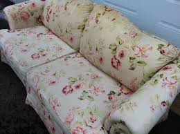 Floral Sofas In Style Family Style Montreal Vintage Furniture Montreal Digs