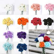 wholesale ling u0027s 5 5cm foam rose bunch wedding artificial flower