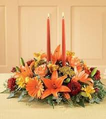 pumpkin flower arrangements ideas fall thanksgiving