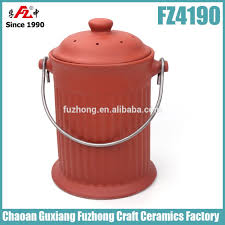 compost canister kitchen ceramic compost bin ceramic compost bin suppliers and