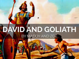 david and goliath by maddy proulx