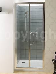 bifold shower door frameless simpsons edge bi fold shower door 900mm