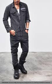 denim jumpsuit mens bottoms workwear vintage denim jumpsuit 97