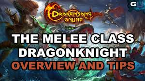 tips class online drakensang online the melee class dragonknight overview and