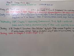 week 9 october 17 21 2016 miss durant u0027s science class