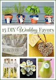wedding favor ideas diy 15 frugal diy wedding favors