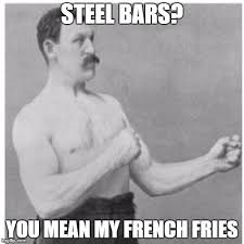 What Does Meme Mean In French - overly manly man meme imgflip
