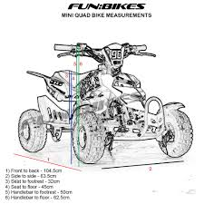 funbikes 49cc pink kids mini quad bike model fbk 1085 49 99 u20ac