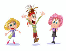 cartoon children kids people 09 vector eps free download logo
