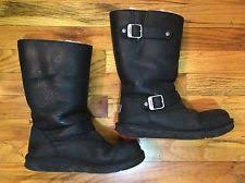 womens motorcycle boots australia ugg australia suede motorcycle boots for ebay
