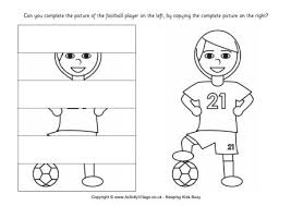 complete the soccer player puzzle