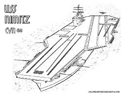 aircraft carrier coloring page battleship coloring pages