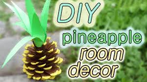 Pineapple Home Decor by Diy Pineapple Room Decor Pinterest Diy Step By Step Youtube