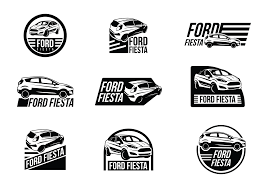 logo ford fiesta fiesta banner free vector art 11678 free downloads