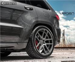 2016 jeep cherokee sport black rims 2016 jeep cherokee velgen wheels vmb5 carli lowered on springs