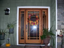 front doors is a craftsman mission style door with a prarie 9