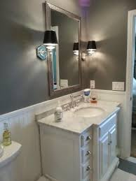 center sink bathroom vanity 45 inch carrara white marble top