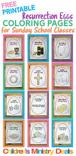 easter resurrection eggs 12 free resurrection eggs coloring pages children s ministry deals