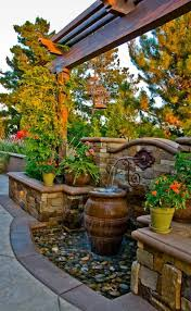 Backyard Feature Wall Ideas 42 Best Backyard Images On Pinterest Outdoor Living Pool Ideas