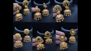 kerala style earrings gold jimikki kammal designs kerala style gold jhumki