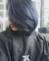 Shoo Hair shoo monday blues with this gorgeously smooth matte blue hair
