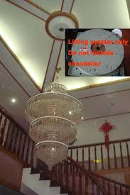 Chandelier Winch Aliexpress Buy 150kg 10m Chandelier Hoist Lighting Lifter