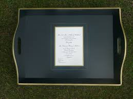 wedding trays wedding invitations trays and country gifts from elfinglen