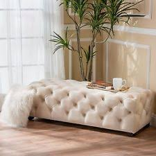 tufted bench ebay