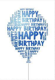 printable birthday card decorations happy birthday print etame mibawa co