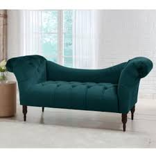 Love Seat Sofa by Green Velvet Sofa Generously Tufted Even Arm Sofa In Tea Green