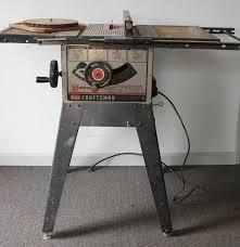 Table Saw Motor Craftsman Sears 9