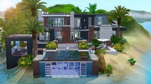 Home Design For The Sims 3 The Sims 3 House Building Paradise Getaway W Julykapo Youtube