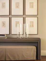 Wall Console Table Five Ways To Hang Art Above A Console Table A Thoughtful Place