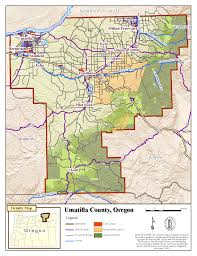 Oregon Time Zone Map by Umatilla Co Planning Gis