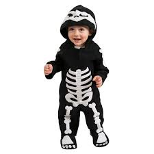 Baby Skunk Halloween Costumes Baby Toddler Baby Skeleton Costume Target