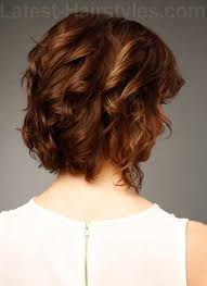side and back views of shag hairstyle 20 good haircuts for medium curly hair hairstyles haircuts