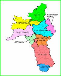 map of county roscommon barony map homepage