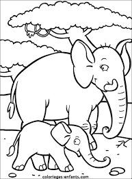 coloriageselephants  Elephants galore  Pinterest  Coloring pages