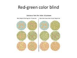 Green Red Color Blind Colorblind